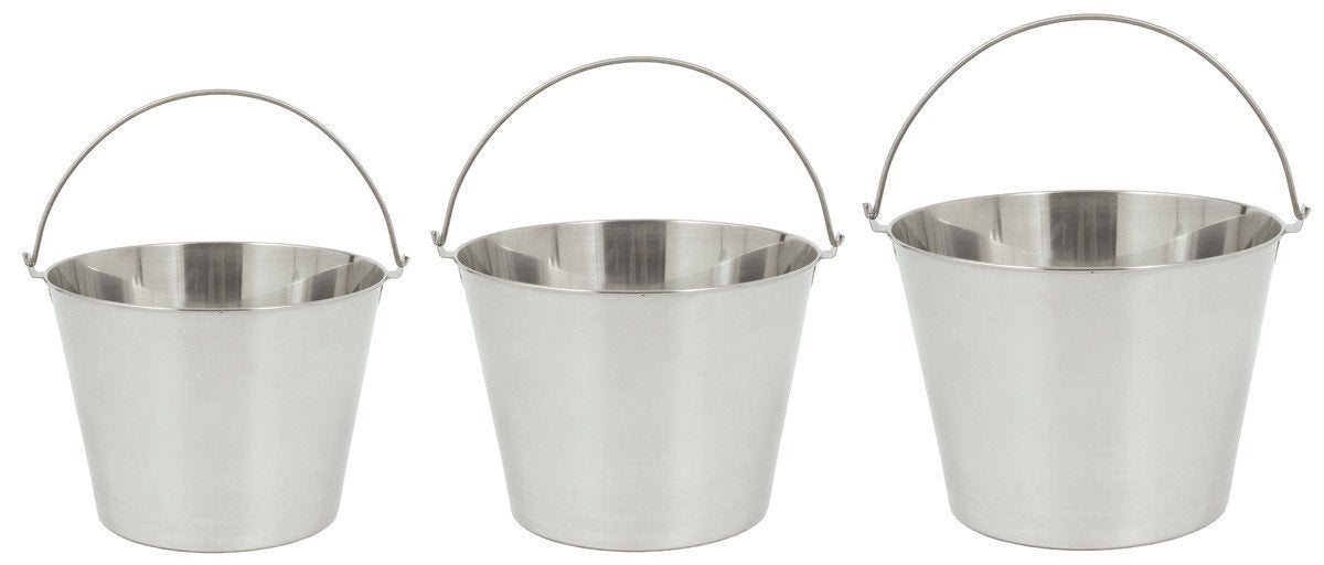 Bayou Classic Three-Piece Stainless Steel Beverage Bucket Set from Bayou Classic