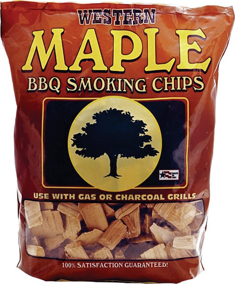 Bayou Classic Western Maple Smoking Chips - 12 Pound Bag from Bayou Classic