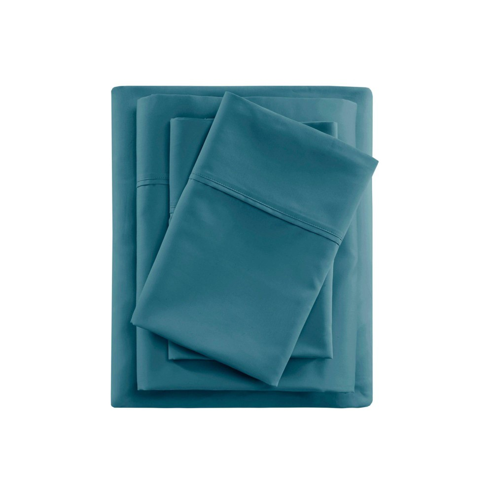 California King 600 Thread Count Sheet Set Teal - Beautyrest from Beautyrest
