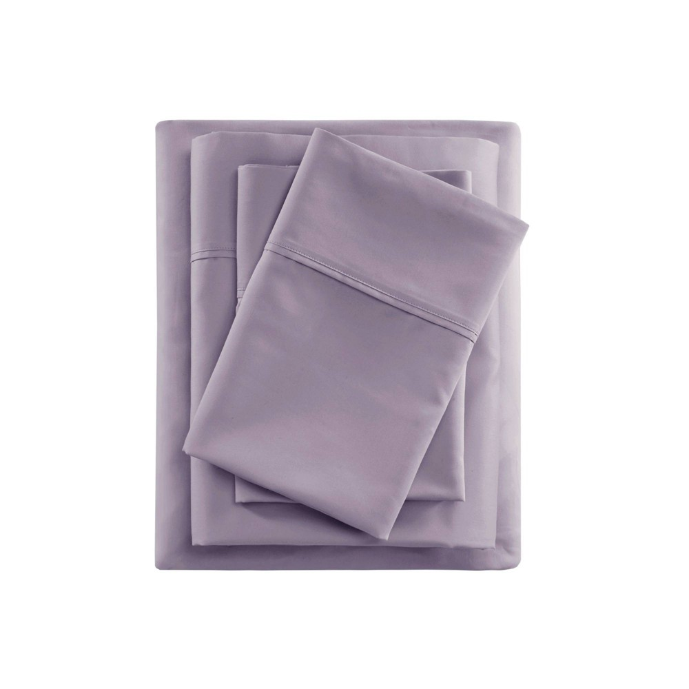 Full 600 Thread Count Sheet Set Purple - Beautyrest from Beautyrest