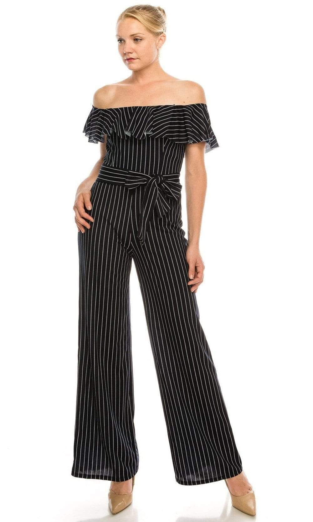 Bebe - 701351 Off-Shoulder Jumpsuit from Bebe