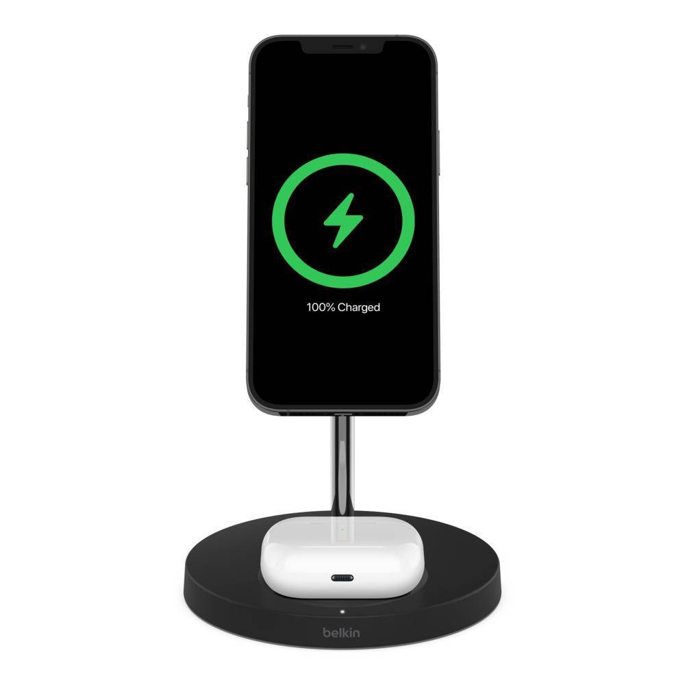 Belkin BoostCharge Pro 2 in 1 Magnetic Wireless Charger with MagSafe from Belkin