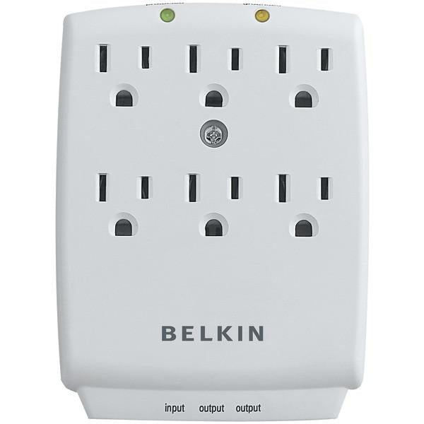 Belkin F9H620-CW 6-Outlet Wall-Mount Surge Protector from Belkin