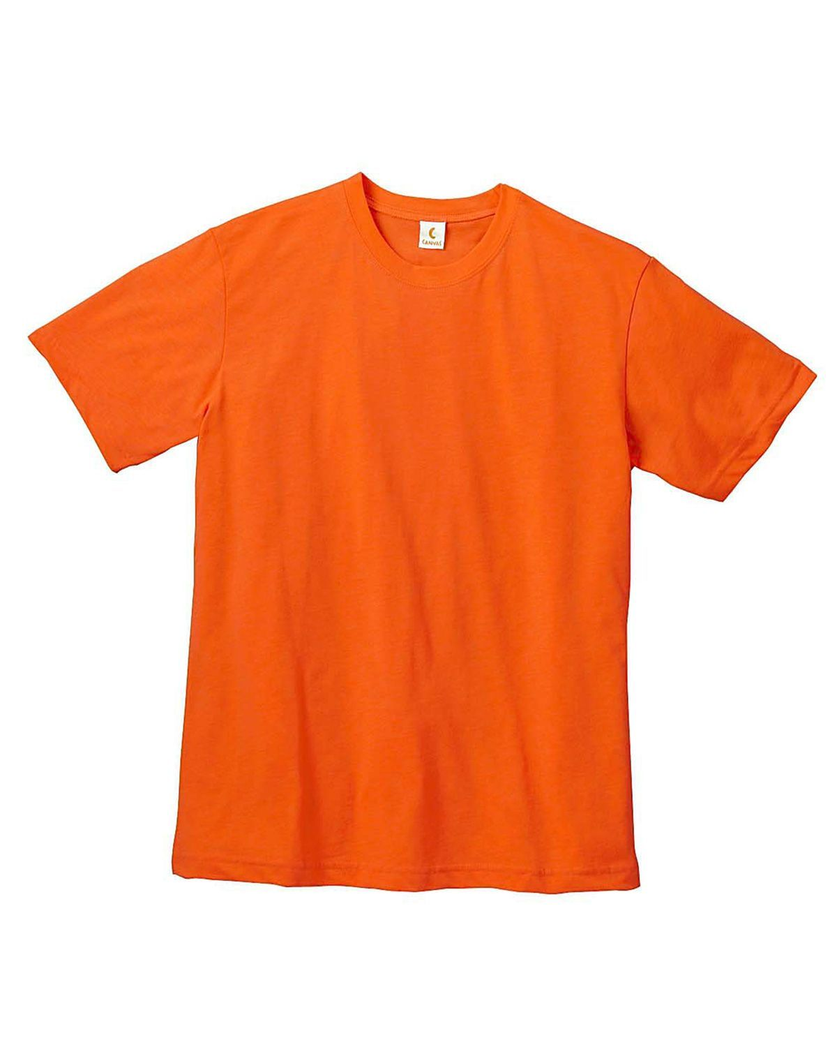 Bella + Canvas 3001C Jersey Short-Sleeve Unisex T-Shirt - Orange - XS from Bella + Canvas
