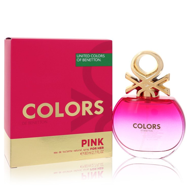 Colors Pink Perfume by Benetton 2.7 oz EDT Spray for Women from Benetton
