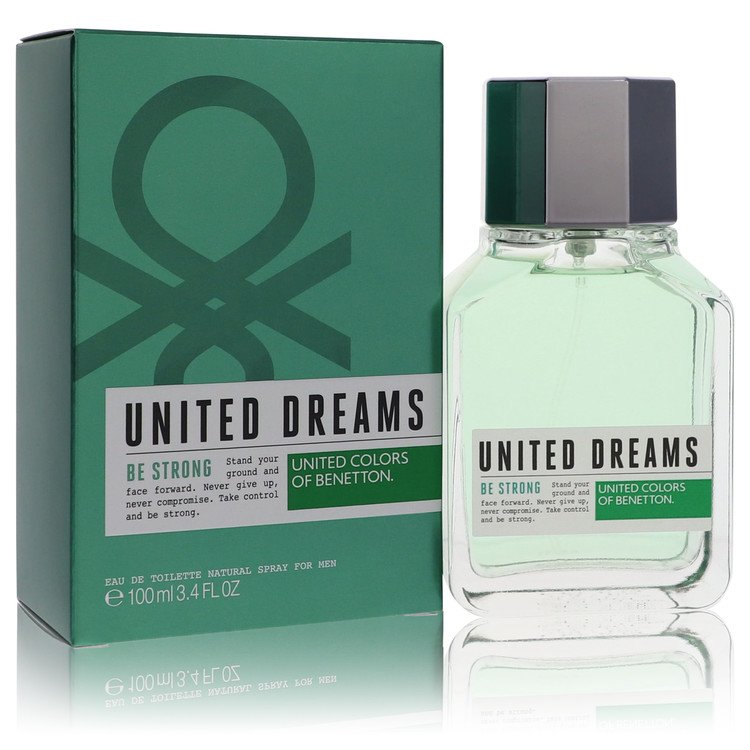 United Dreams Be Strong Cologne by Benetton 3.4 oz EDT Spay for Men from Benetton