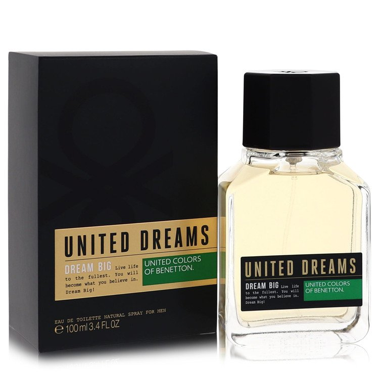 United Dreams Dream Big Cologne by Benetton 3.4 oz EDT Spay for Men from Benetton