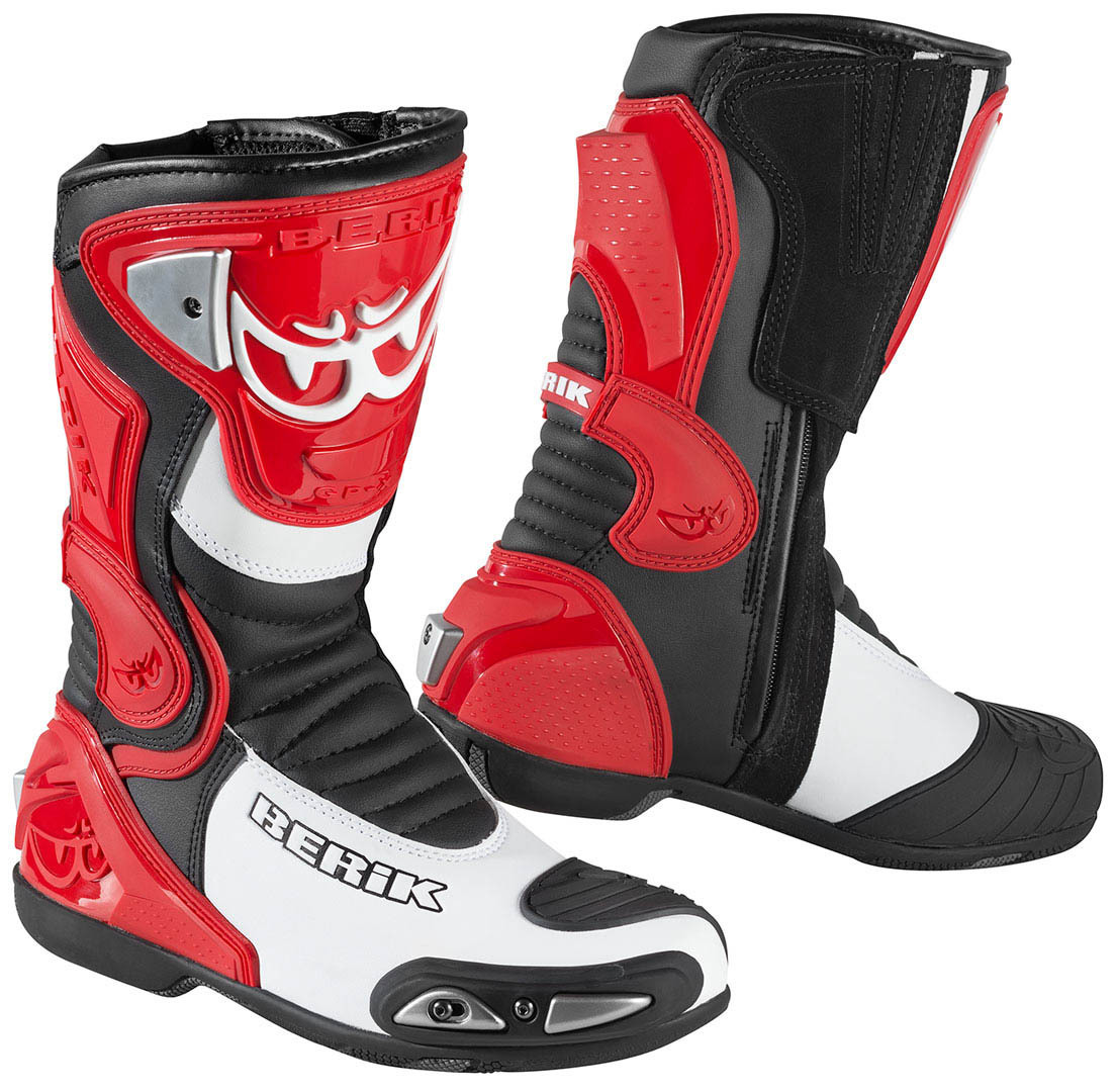 Berik Losail Motorcycle Boots, red, Size 46, red, Size 46 from Berik