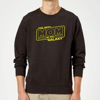Best Mom In The Galaxy Sweatshirt - Black - L - Black from The Mother Collection