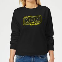 Best Mom In The Galaxy Women's Sweatshirt - Black - M - Black from The Mother Collection