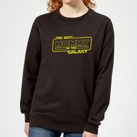 Best Mommy In The Galaxy Women's Sweatshirt - Black - L - Black from The Mother Collection