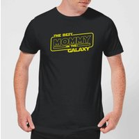 Best Mommy In The Galaxy T-Shirt - Black - L - Black from The Mother Collection