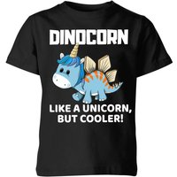 Big and Beautiful Dinocorn Kids' T-Shirt - Black - 7-8 Years - Black from Big And Beautiful