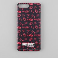 Birds of Prey Black & Pink Phone Case for iPhone and Android - iPhone 6 Plus - Tough Case - Gloss from Birds of Prey