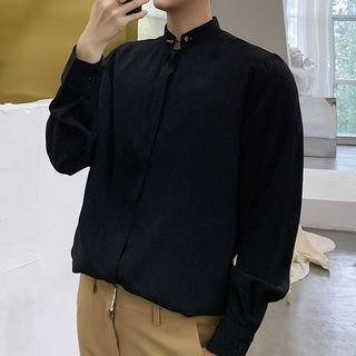 Stand Collar Shirt from Bjorn