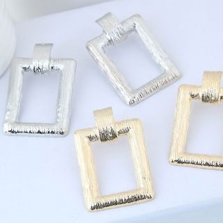 Alloy Rectangle Dangle Earring from Bling Thing