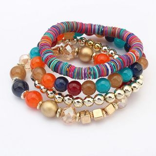 Bead Layered Bracelet from Bling Thing