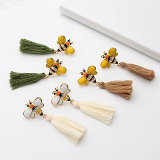Bee Tassel Earring from Bling Thing