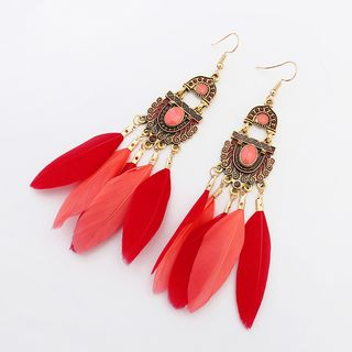 Feather Earring from Bling Thing