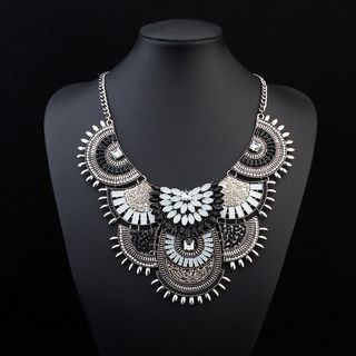 Layered Jeweled Necklace from Bling Thing
