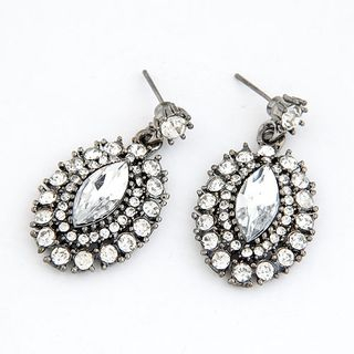 Rhinestone Drop Earrings from Bling Thing