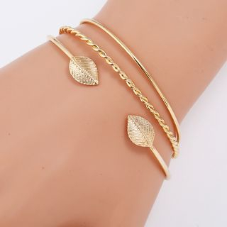 Set of 3: Open Bangles from Bling Thing