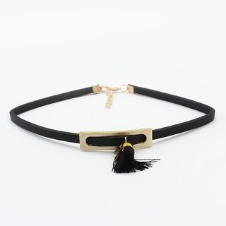 Tassel Choker from Bling Thing