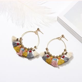 Tassel Mini Hoop Earring from Bling Thing