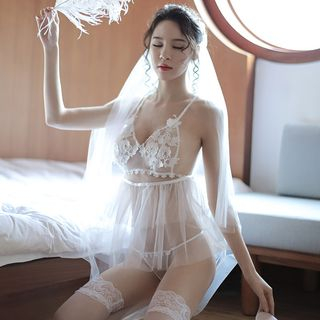 Bride Lingerie Costume Set from Boanne