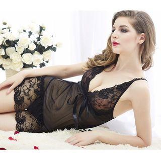 Lace Babydoll Lingerie Set from Boanne