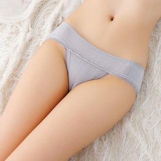 Lace-Trim Panties from Boanne