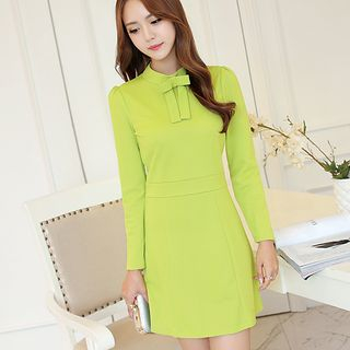 Bow Long-Sleeve Dress from Bornite