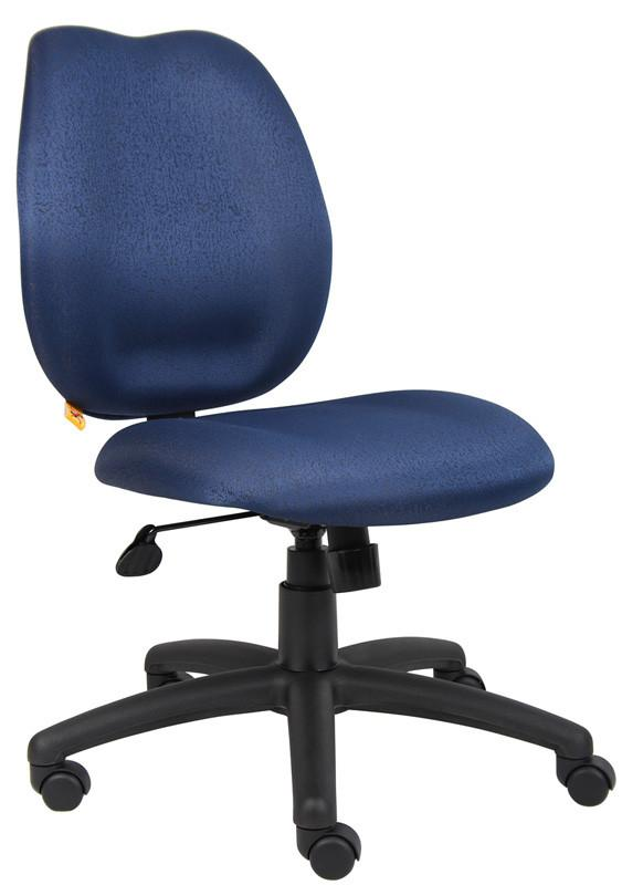 Boss Office Products B1016-BE Boss Blue Task Chair from Boss Office Products