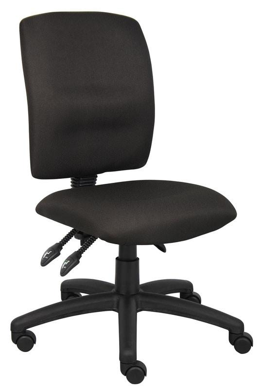 Boss Office Products B3035-BK Boss Multi-Function Fabric Task Chair from Boss Office Products