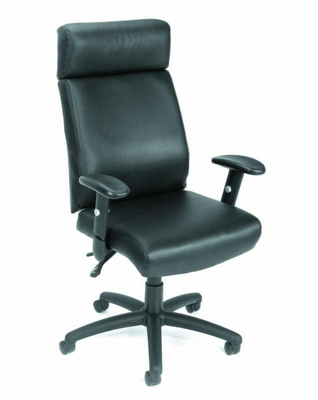 Boss Office Products B700 Boss High Back Caressoft Multi Function Executive Chair from Boss Office Products
