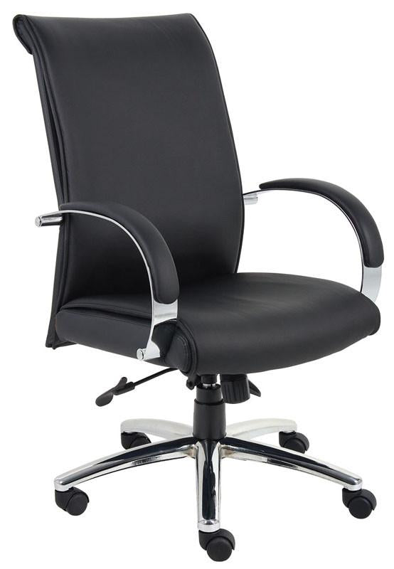 Boss Office Products B9431-BK Boss Caressoftplus Executive Series from Boss Office Products