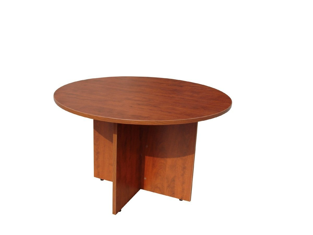 "Boss Office Products N127-C Boss 42"" Round Table, Cherry from Boss Office Products"