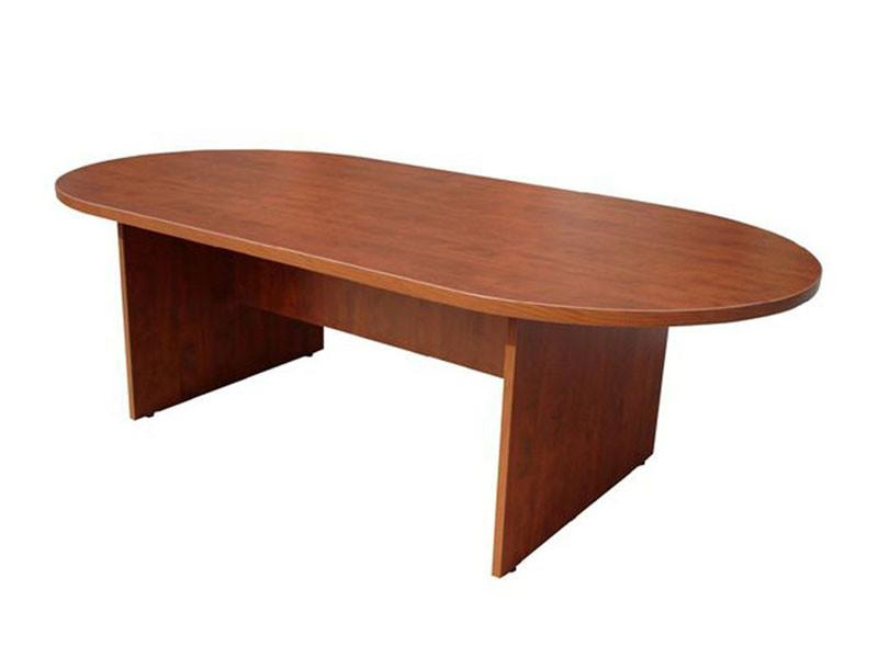 Boss Office Products N135-C Boss 71W X 35D Race Track Conference Table, Cherry from Boss Office Products