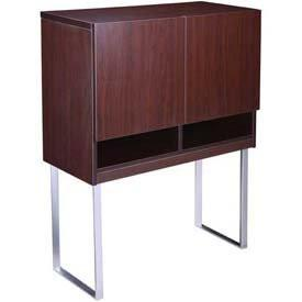 Boss Office Products N8009-MOC Boss Modular Laminate Series Hutch from Boss Office Products