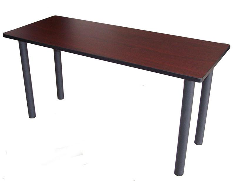 "Boss Office Products NTT2436-M Boss Training Table 36""W X 24""D Mahogany from Boss Office Products"