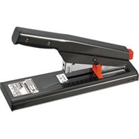 Antimicrobial 130-Sheet Heavy-Duty Stapler, 130-Sheet Capacity, Black from Bostitch