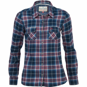 Womens Large Check Flannel Shirt from Brakeburn