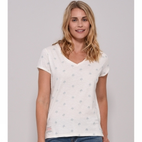 Womens Trees V Neck from Brakeburn
