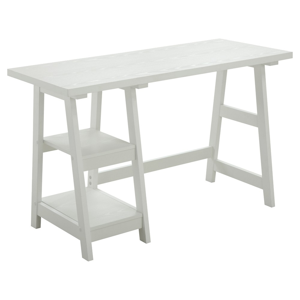 Trestle Desk White - Breighton Home from Breighton Home