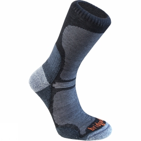Mens WoolFusion Trail Ultra Light Sock from Bridgedale