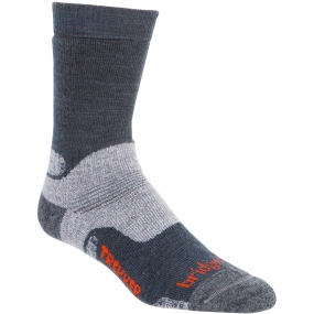 Mens Woolfusion CuPED Trekker Sock from Bridgedale