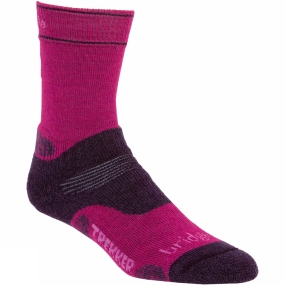 Womens Woolfusion CuPED Trekker Sock from Bridgedale