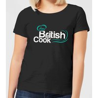 British Cook Green Women's T-Shirt - Black - XL - Black from British Cook