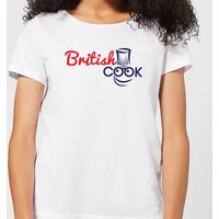 British Cook Logo Women's T-Shirt - White - S - White from British Cook