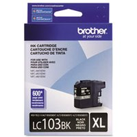 LC103BK Innobella High-Yield Ink, Black from Brother